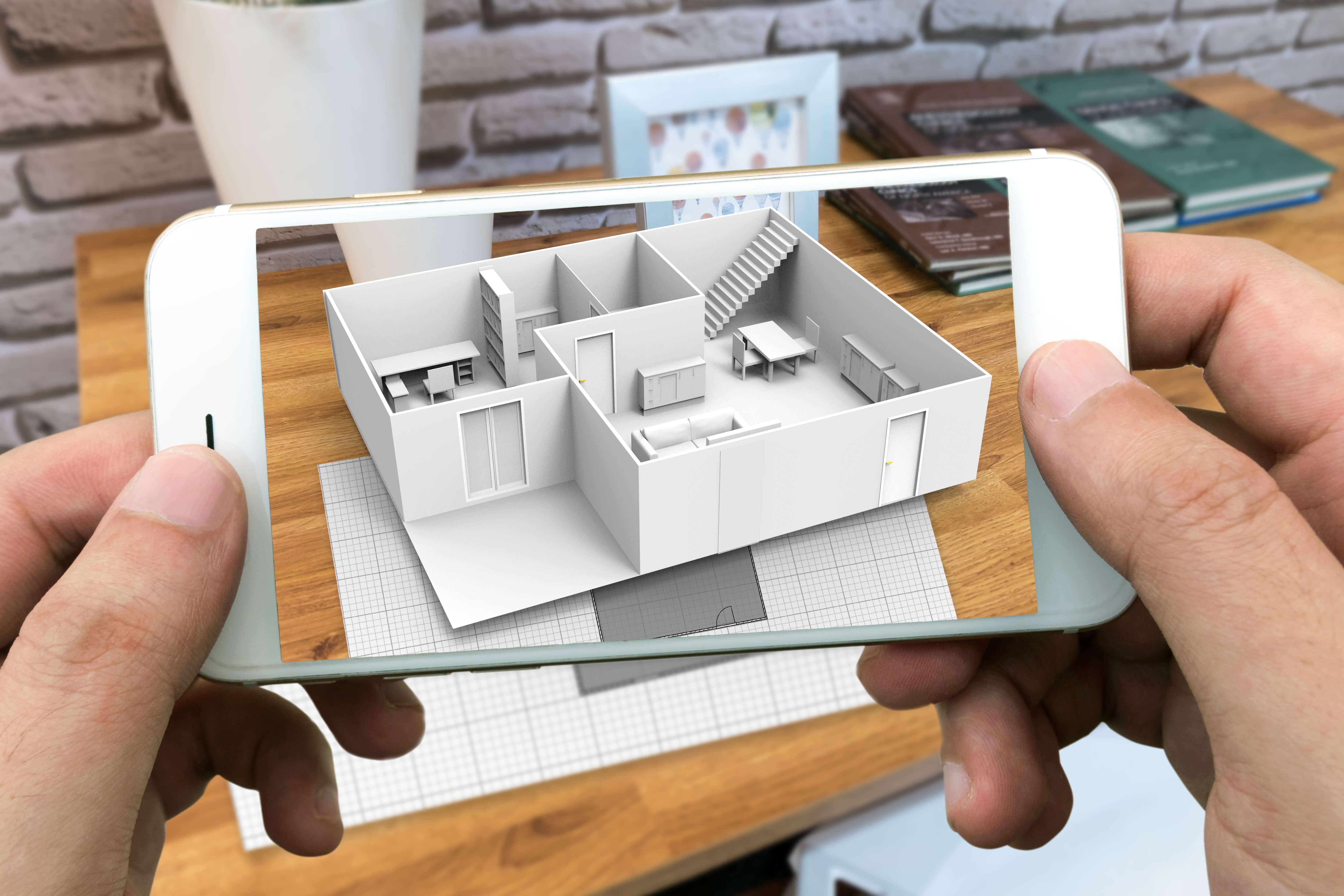 3D Modell Grundriss