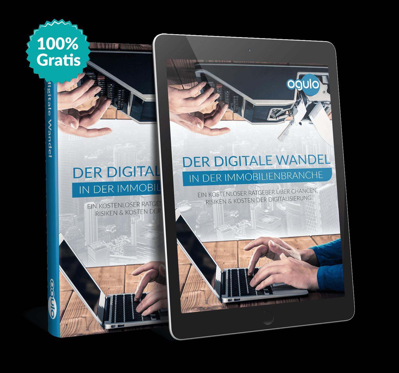 "Ogulos kostenloses E-Book ""Der digitale Wandel in der Immobilienbranche"""