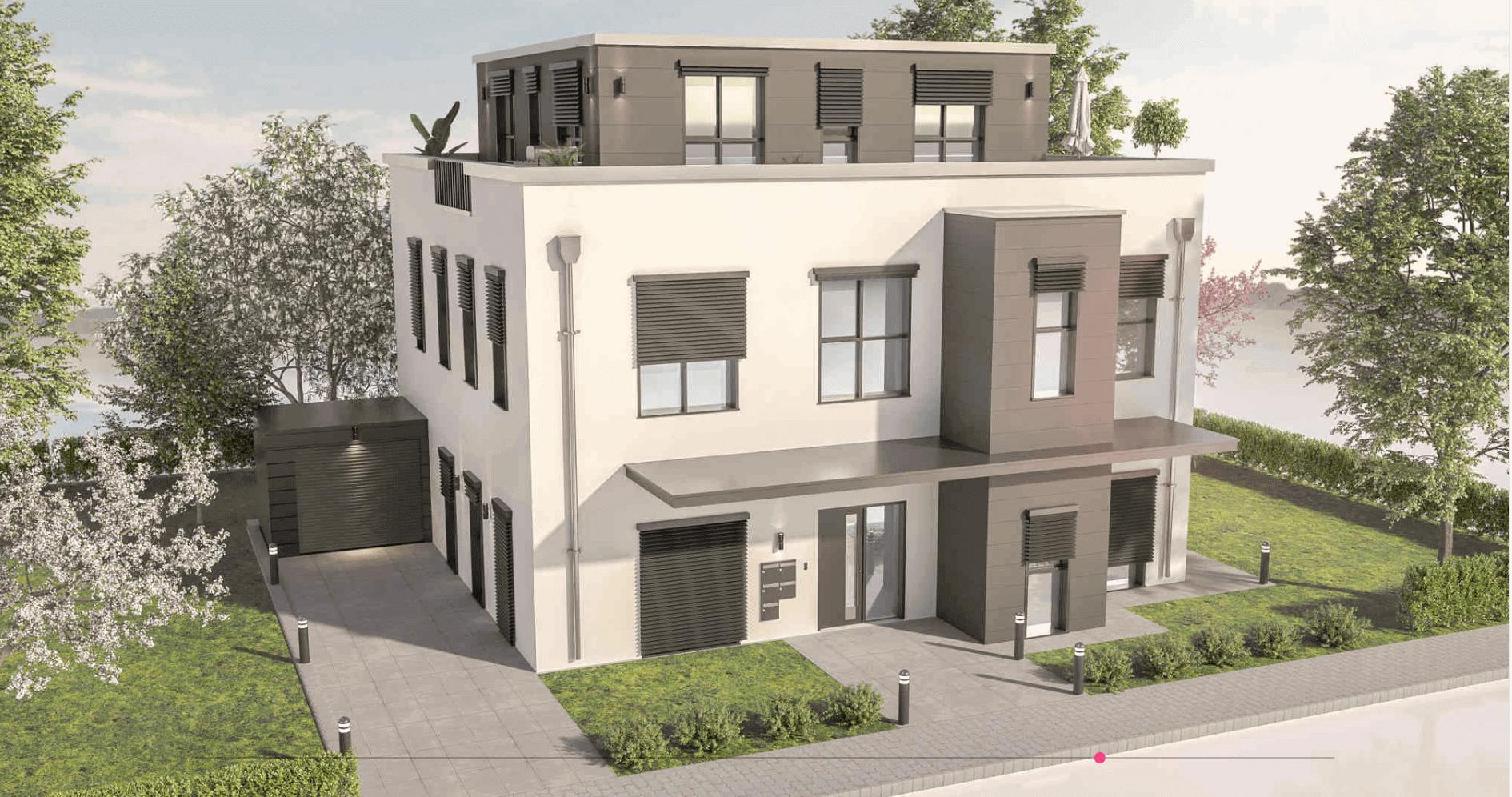 Flatfinder eines Wohnhauses