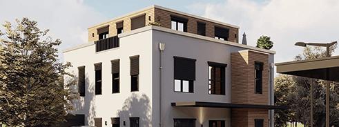 Außenvisualisierung Neubauprojekte